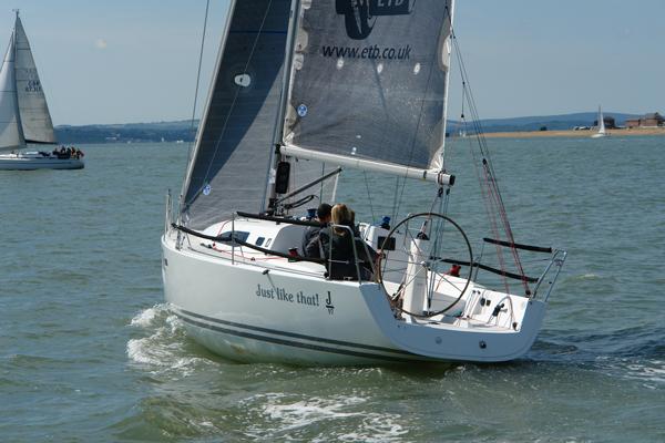 Gama de veleros... J 112e